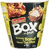 Paul & Louise Box du Jour Émincé de Bœuf Sauce Tex Mex et Riz 300 g -