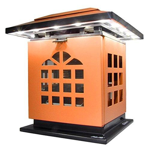 Preisvergleich Produktbild HLC® Tragbare Tea Kerzen-Leuchte Schreibtischlampe mit Akku 2000 mAh Power Bank Ladegerät zum Aufladen von Smartphones und Tablet,mobil aufladbare LED Tischlampe auch als Kerzenständer ersetztbar, Orange