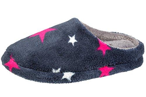 gibra, Pantofole donna Grigio scuro