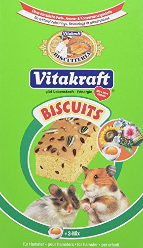 Vitakraft Biscuits 3 Mix pour Hamsters P/6 Lot de 2