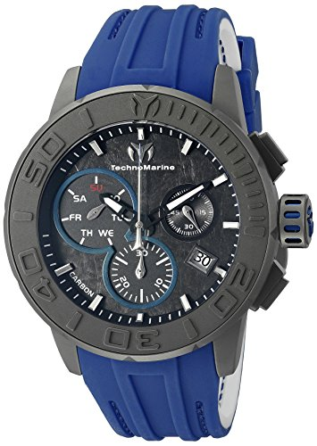 technomarine-mens-quartz-watch-with-grey-dial-chronograph-display-and-blue-silicone-strap-tm-515003