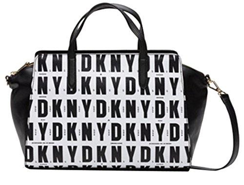 donna-karan-dkny-ladies-bag-active-coated-logo-street-womens-handbag-black-print-on-white-trapeze-sh