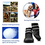 Royalcare Protective Dog Boots, Set of 4 Waterproof Dog Shoes with Wear-resistant and Rugged Anti-Slip Sole Suitable for… 15