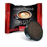 Caffè Borbone 100 Capsule Don Carlo Miscela Rossa Red Compatibili con Macchine Lavazza A Modo Mio + Omaggio CAFFE' DIEM ...