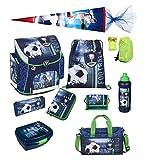 Fußball Schulranzen Set 10tlg. Sporttasche