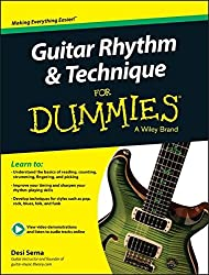 Guitar Rhythm and Technique For Dummies: Book + Online Video & Audio Instruction