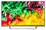 Philips 55PUS6803/12 55-Inch 4K Ultra HD Smart TV with HDR Plus, Freeview Play and 3-sided Ambilight - Dark Silver (2018 Model)