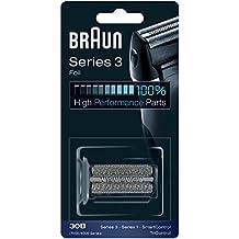Braun 30B - Láminas de recambio para afeitadoras Series 1 (generación antigua), Series 3 (generación antigua), TriControl, 7000/4000