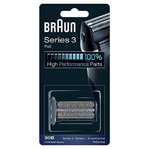 Braun Grille de Rechange 30B pour Les Rasoirs Electriques SmartControl