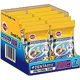 Pedigree Dentastix, Dental Care Dog Treat for Adult Small Breed(5-10kg) Dogs, 1.1 Kg (7 sticks, Pack of 10)