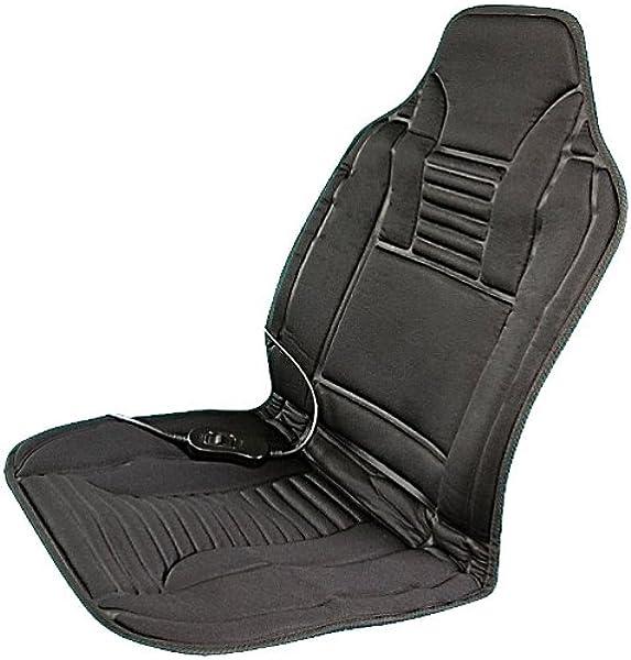 Lescars Sitzheizung Beheizbare Kfz Sitzauflage Mit Temperaturregler 12 Volt Beheizbare Sitzauflage Auto Auto