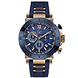 GUESS Sport Chic Collection Homme 44mm Bleu Quartz Montre X90022G7S