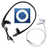 Underwater Audio - iPod Shuffle Impermeable y Sumergible (Waterproof iPod), Paquete Grande tiene Auriculares Swimbuds y HydroHarmony (Gris Espacial)