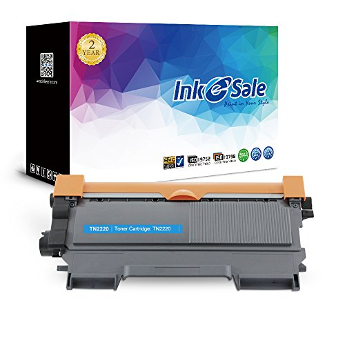 INK E-SALE 1x Kompatible Tonerkartuschen zu Brother TN2220 f¨¹r Brother FAX-2840 2845 2940 HL-2240D 2240 2250DN 2270DW DCP-7060D 7065DN 7070DW MFC-7360N 7460DN 7860DW Drucker schwarz, ca. 2.600 Seiten
