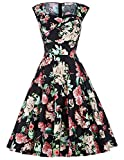 Women's Vintage A-line Sweetheart Neckline Knee-Length Prom Dress L YF105-1