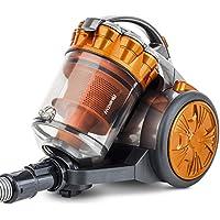 H.KOENIG STC60 Aspirador Multi Ciclónico sin bolsa Compact +, Triple A, Filtro