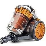 H.Koenig STC60 beutelloser Staubsauger/Multi-Zyklonen Sauger, Orange