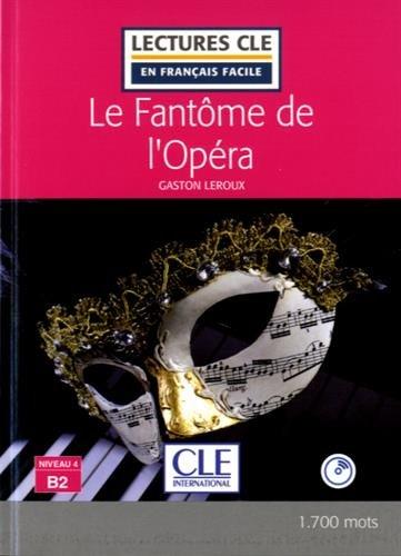 Le fantome de l'Opera - Livre + CD par Gaston Leroux