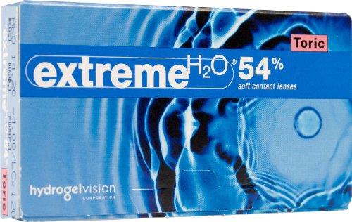 extreme H2O 54{1bf0b8c54926ebe0cb8c46dfc2f221cdc4ef9822d14c7c585243133ab75f170d} Monatslinsen weich, 6 Stück / BC 8.30 mm / DIA 13.60 mm / -1.5 Dioptrien