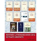 Extraits gratuits - Rentrée littéraire Gallimard Hiver 2014