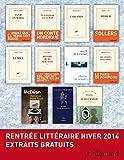 Extraits gratuits - Rentrée littéraire Gallimard Hiver 2014 (French Edition)