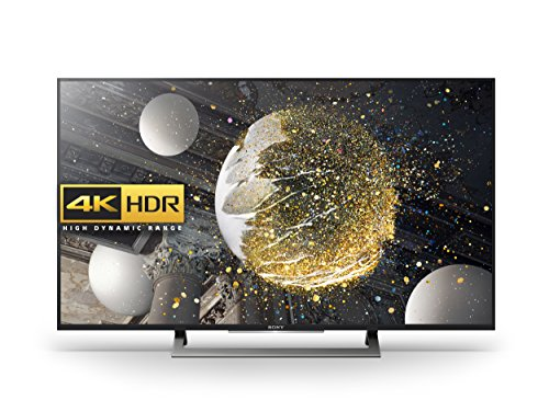 Sony Bravia KD49XD8088 49 inch Android 4K HDR Ultra HD Smart TV with TRILUMINOS Display, PlayStation Now and Google Cast (2016 Model) - Black (Certified Refurbished)