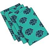 ShalinIndia Cotton Printed Table Linens Napkins Set Of 4, 13x13 Inches 200TC Indian Home DÃcor