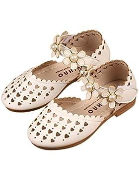 Sandalias Para Niñas, RETUROM Summer Children Infant Girls Flower Pearl Hollow Heart Sandals Zapatos de princesa
