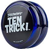 Yo-yo TenTrick by YoyoFactory - Rojo (Cuscinetto, trucchi, ideale per i principianti)