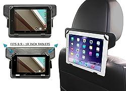 Ce support voiture est idéal pour toutes tablettes de taille autour de 10 pouces ( 9,7 pouces / 10 pouces / 10,1 pouces / 10,2 pouces) de toutes marques y compris Apple , Samsung, Asus, Acer, HP, Lenovo, Toshiba & Sony Xperia.