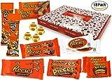 Reese - Sweet-Box - XXL Geschenkkorb | 18 verschiedene amerikanische Süßigkeiten | Peanut Butter Cups in Vollmilch und weißer