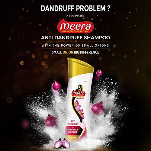 Meera Anti Dandruff Shampoo, 180 ml (Pack of 2)