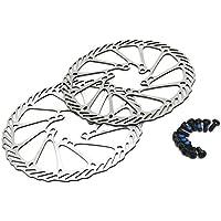 goldentrading 160mm Bike Freno a disco rotore 2pezzi + 12in acciaio inox disponibile per Avid