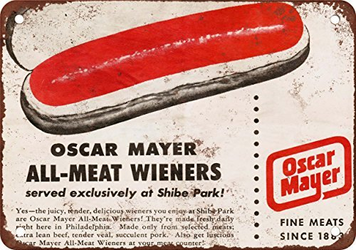 1953-oscar-mayer-wieners-at-shibe-park-vintage-look-reproduction-metal-tin-sign-12x16-inches