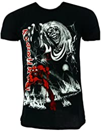 Iron Maiden Number of the Beast Jumbo Camiseta negro Oficial Con licencia Música