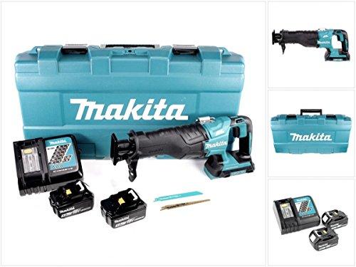 Preisvergleich Produktbild Makita DJR 360 RTK Reciprosäge Säbelsäge im Koffer 2x 18 V mit 2x BL 1850 5,0 Ah Akku und Ladegerät