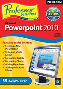 Professor Teaches Microsoft PowerPoint 2010 (PC)