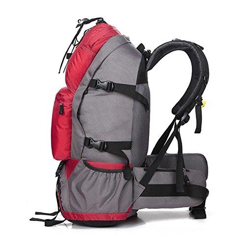 Sport & Outdoor Rucksack Trekking Taschen Wasserdicht WanderrucksäCke Red