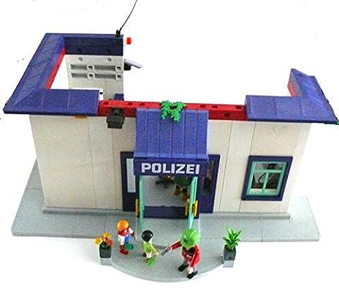 playmobil ® - Polizei Station Polizeistation - Police Office - Polizeiwache mit Gefängnis und viel Zubehör