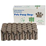 Dumi Pets Bolsas biodegradables para residuos de perro extra gruesas y fuertes, a prueba de fugas, respetuosas con el medio ambiente, 420 unidades