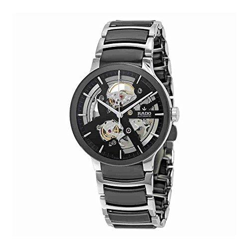Rado Centrix Herren-Armbanduhr 38mm Armband Keramik Zwei Ton Gehäuse Edelstahl Automatik Analog R30178152