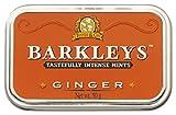 Barkleys Arancione Caramelle Zenzero Ginger. Confezione da 6 Lattine. Ogni Lattina contiene 50 grammi di confetti allo Zenzero. Senza derivati del latte, Glutine, Uova, Soia e sostanze animali. Adatto a Vegetariani e Vegani. Da collezionare.