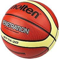CN Baloncesto de los Deportes de PU séptima Pelota estándar de Baloncesto,marrón,Numero 7