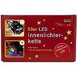 Idena 8325055 Led- Lichterkette 50-er innen bunt