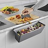 Metaltex Auffangschale für Küchenabfälle, Grau, 35x16x13 cm