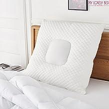 MyLovelyBed - Oreiller Multi-Zone 65x65cm – Respirant et Ergonomique – Confort Ferme – Excellent maintien des cervicales - Qualité Hôtellerie