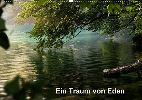 Ein Traum von Eden (Wandkalender 2020 DIN A2 quer): Grüne Paradiese (Monatskalender, 14 Seiten ) (CALVENDO Natur)