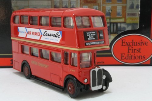 efe-red-air-france-double-decker-bus-176-scale-diecast-model