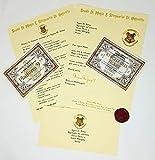 Harry Potter Lettera di Accoglienza ad Hogwarts Personalizzata