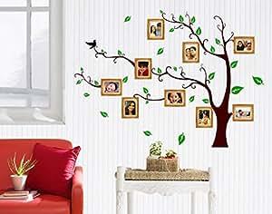 ... Decals Design U0027Living Family Photo Treeu0027 Wall Sticker (PVC Vinyl, 90 Cm  X 60 Cm) Part 67
